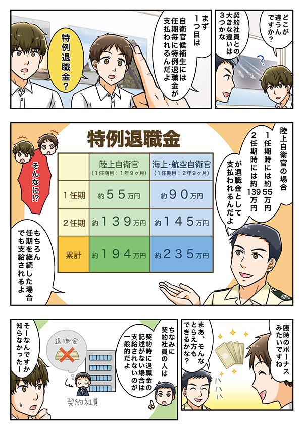 自衛官採用制度紹介漫画冊子 自衛官候補生編の画像6枚目