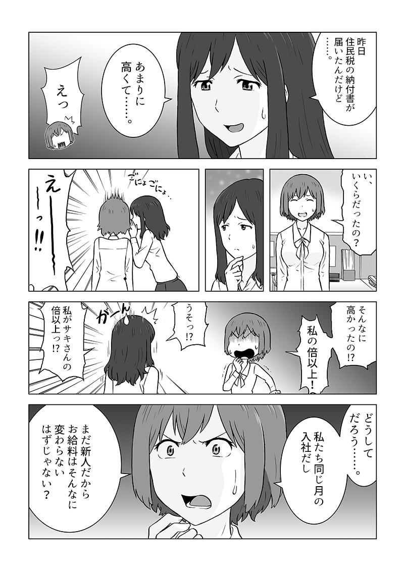 確定申告サービス冊子掲載漫画[画像2]