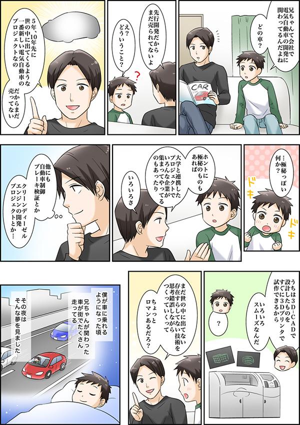 採用情報サイトに掲載する漫画[画像5]