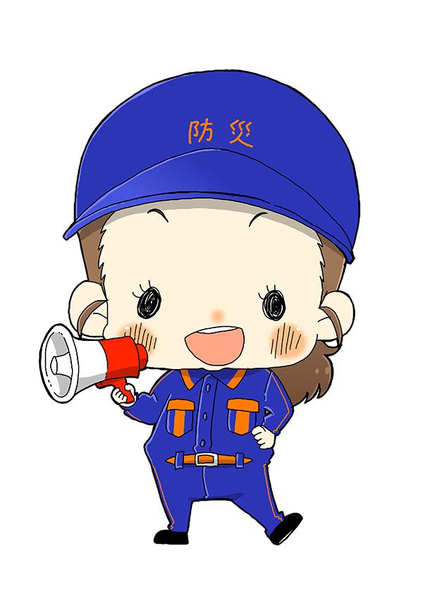 アプリ『防災サポ!』キャラクターイラスト[画像2]