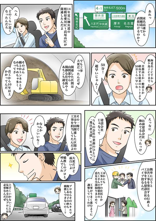 採用情報サイトに掲載する漫画[画像4]