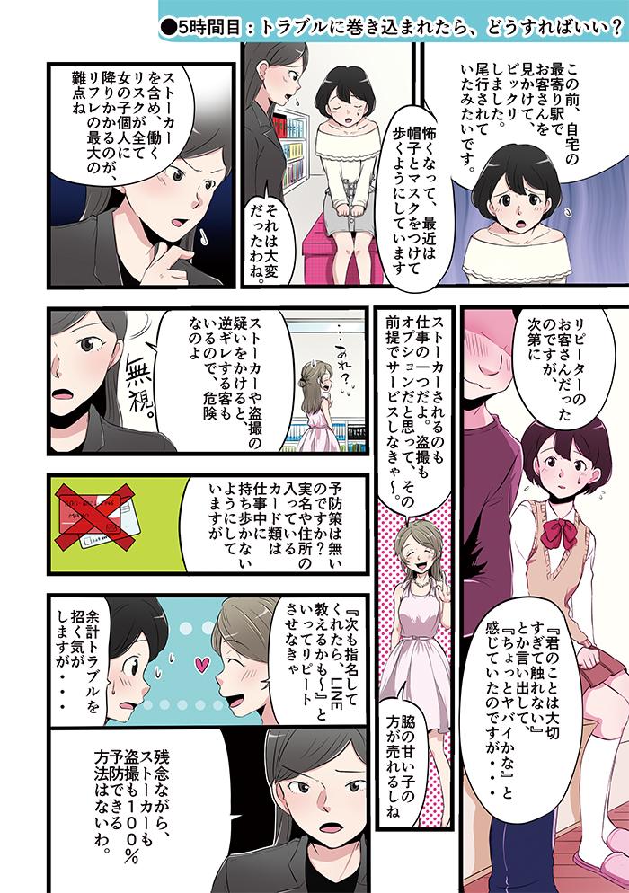 リフレ女子の仕事解説漫画[画像1]