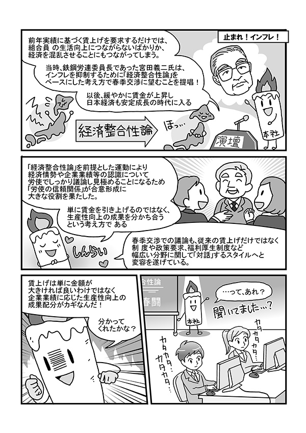社員向け説明資料掲載漫画[画像3]