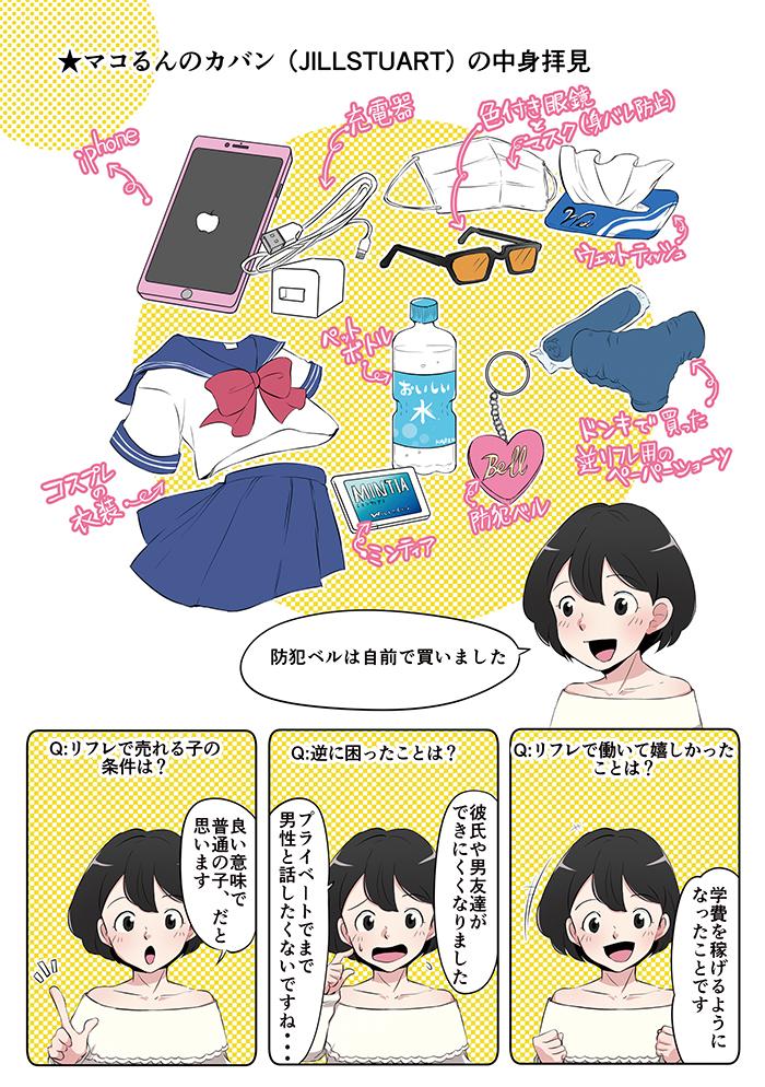 リフレ女子の仕事解説漫画[画像3]