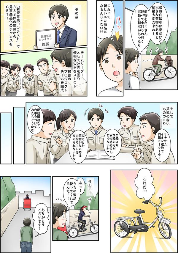 採用情報サイトに掲載する漫画[画像6]