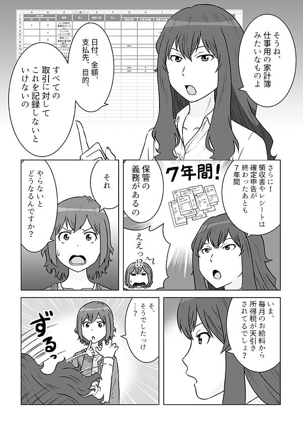 会計サービス紹介漫画[画像6]