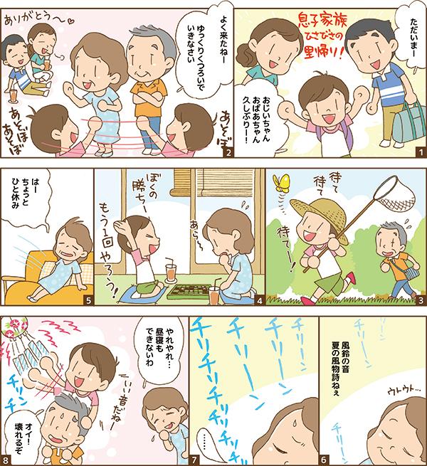 日本薬師堂会報誌掲載漫画 第2弾[画像1]